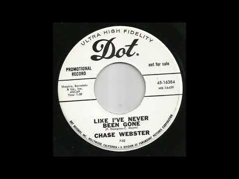 Chase Webster - Like I've Never Been Gone