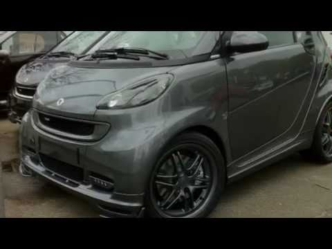 brabus tailor made smart fortwo tuning youtube. Black Bedroom Furniture Sets. Home Design Ideas