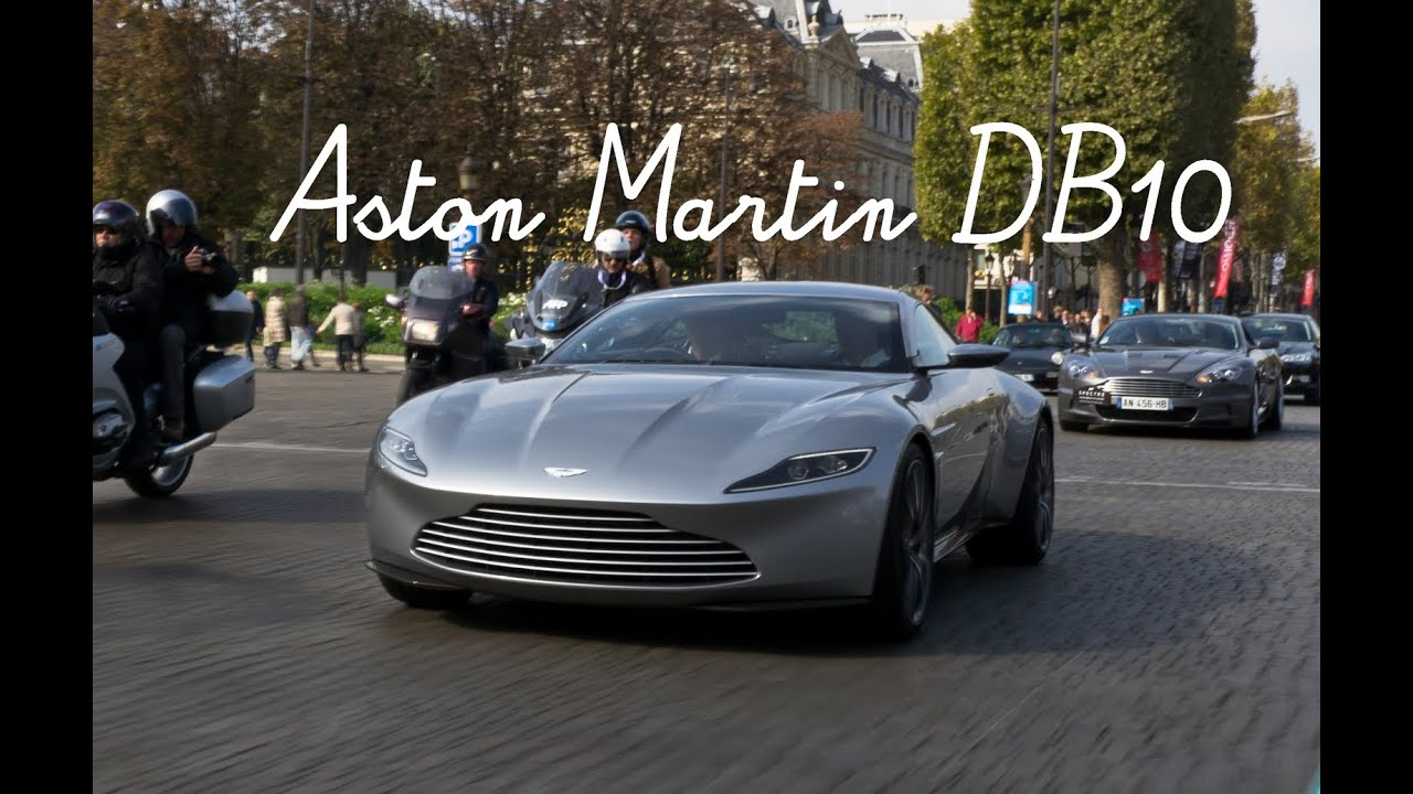 james bond in paris with his new aston martin db10 007 spectre youtube. Black Bedroom Furniture Sets. Home Design Ideas
