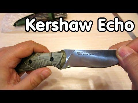 Нож Kershaw 1070C Echo Hunting Camo - обзор посылки с Aliexpress