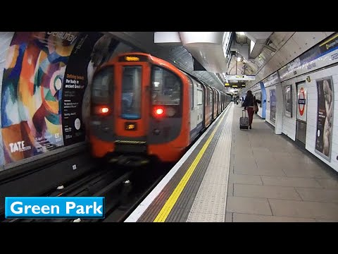 London Underground : Green Park | Victoria line ( 2009 Tube Stock )