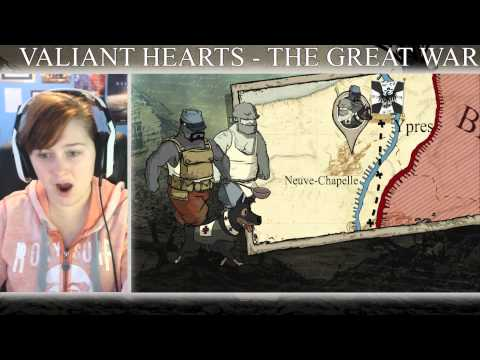 Valiant Hearts The Great War Walkthrough Part 2 - The First Gas Attack