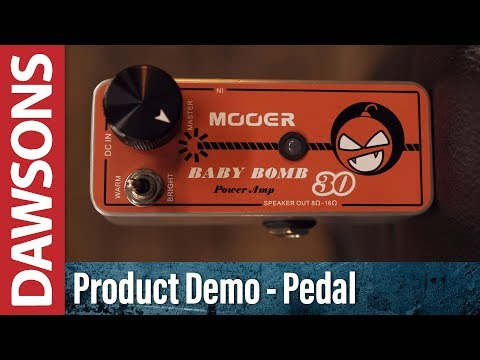 Mooer Baby Bomb Micro Power Amp Review