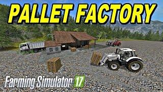 Farming Simulator 2017  Mods PALLET FACTORY