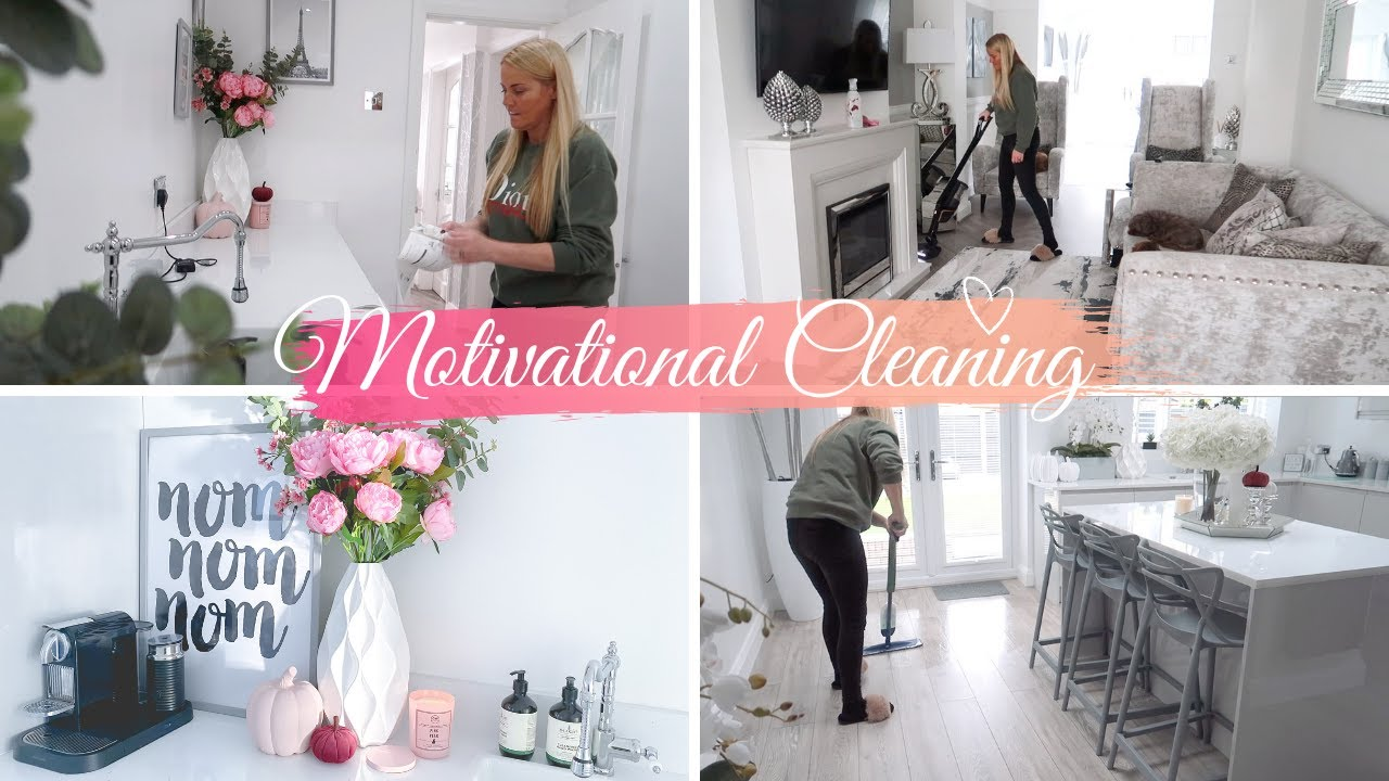 Clean Up With Me UK Cleaning Motivation // Toni Interior
