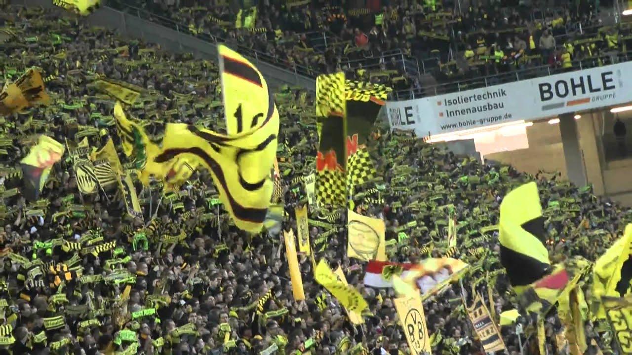 Borussia Dortmund - Mainz 05 1-1 BVB Stimmung Westfalenstadion Highlights