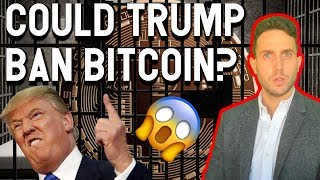COULD TRUMP BAN BITCOIN? Congress blocks Facebook's Libra? Iran national Crypto?