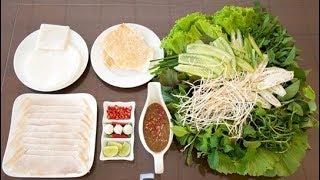 Gambar cover Hành trình ẩm thực Việt Nam: Ăn bánh tráng cuốn thịt heo, bún mắm nêm Đà Nẵng l HTATVN l HTV Web