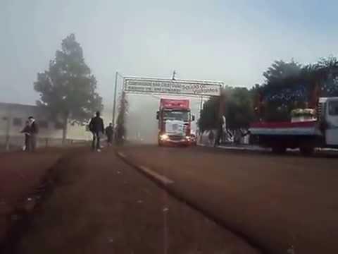 Festa de são cristovão com Transportadora mz de pinhalzinho ltda juntamente  com as piazadas do GAX