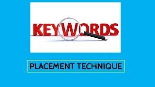 How to Check and Place Keywords On Blog-Post?   hindi