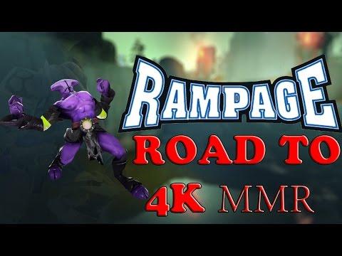 видео: dota 2 [void] набиваю mmr до 4000 ч.18 rampage!!!