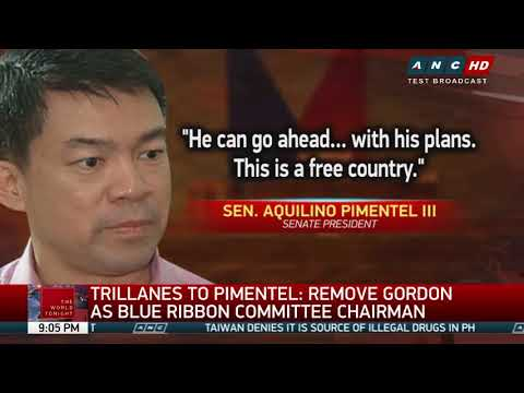 Trillanes to Pimentel: Remove Gordon as Blue Ribbon chair or I'll have you ousted