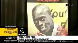 Thabiso Zulu speaks on Sindiso Magaqa murder trial set to start on Monday
