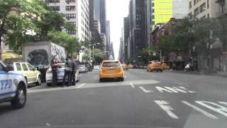 Bowery and Park Avenue - Midtown, New York City