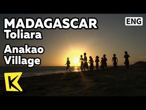 【K】Madagascar Travel-Toliara[마다가스카르 여행-톨리아라]아나카오 어촌, 베주 족/Anakao Village/Vezo Tribe/Zebu/Fishing