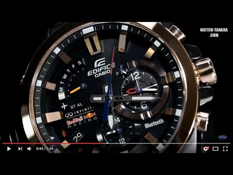 Casio Edifice Eqb 510 Red Bull Racing Limited Edition Youtube