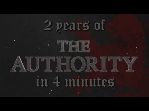 Two years of The Authority in 4 minutes.