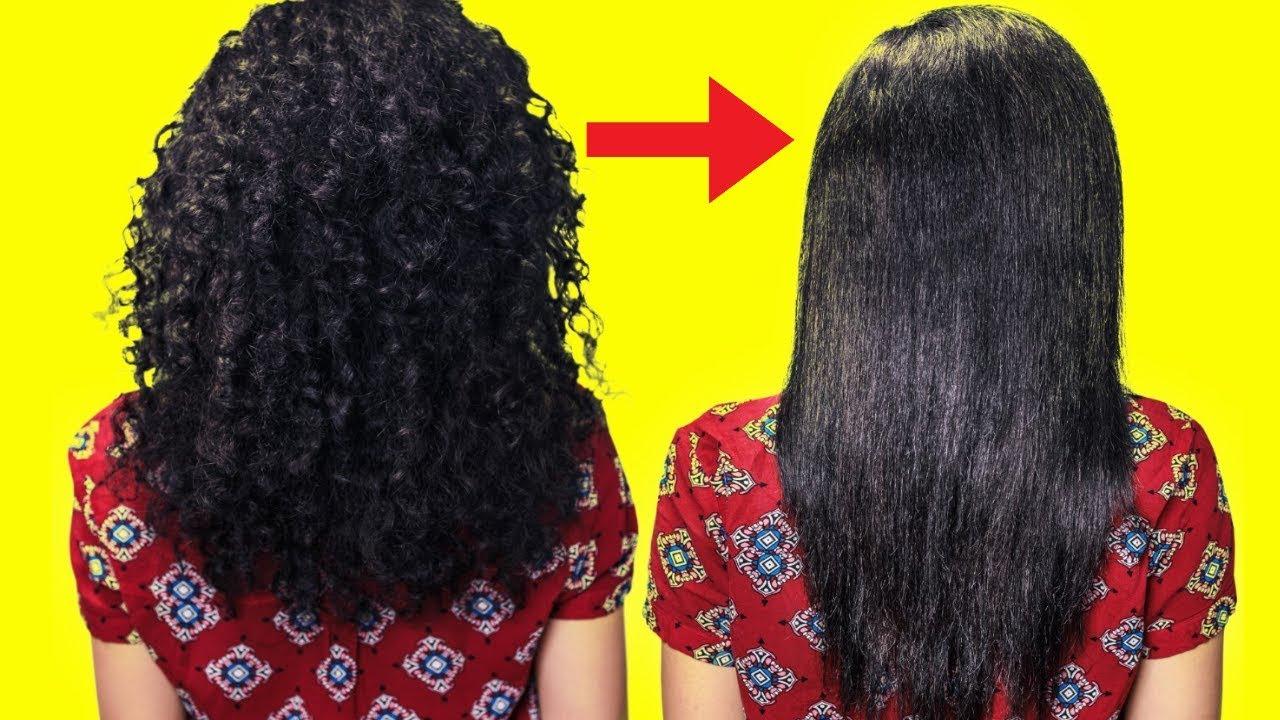 Natural Hair Straightening Home Remedies