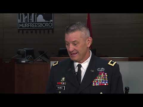 Murfreesboro Storytellers (May 2019)-TN Adjutant General Jeff Holmes