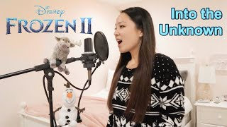 Gambar cover Into the Unknown - Idina Menzel & Aurora (Grace Lee Cover) Frozen 2