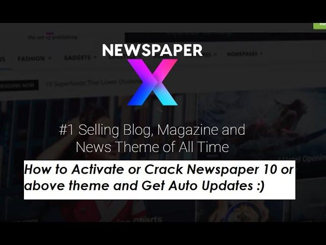 No key Newspaper WordPress Theme Lastest Version 2020 Lifetime