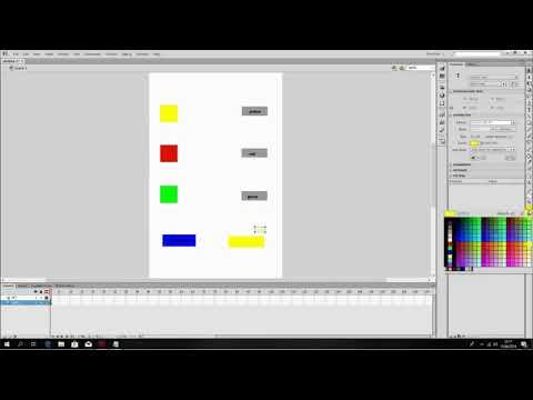 tutorial membuat game android drag and drop menggunakan adobe flash cs6 #1 thumbnail