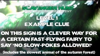 Spring Scavenger Hunt EXAMPLE
