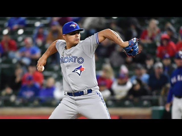 """Roberto Osuna's lawyer says the Toronto Blue Jays pitcher will plead not guilty in the assault case against him and says accepting a 75-game unpaid suspension from Major League Baseball is not an """"admission of guilt."""" (The Canadian Press)"""