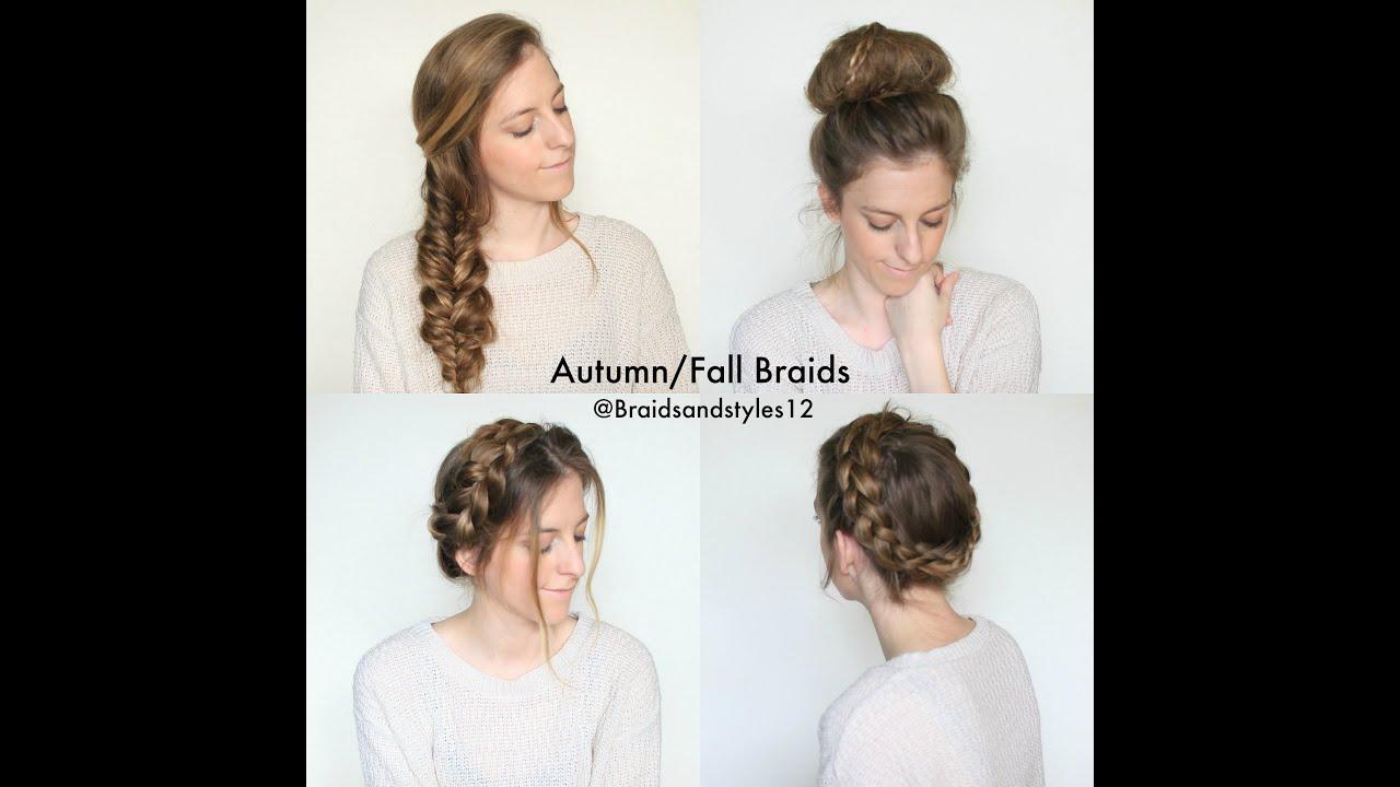 Autumn/Fall Braided Hairstyles | Braidsandstyles12 - YouTube