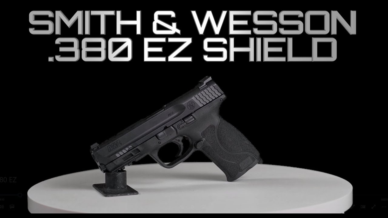Smith & Wesson M&P .380 EZ Shield, Disassembly/Reassembly