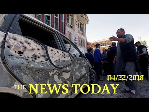 Blast At Election Center In Afghan Capital Kills More Than 50 | News Today | 04/22/2018 | Donal...