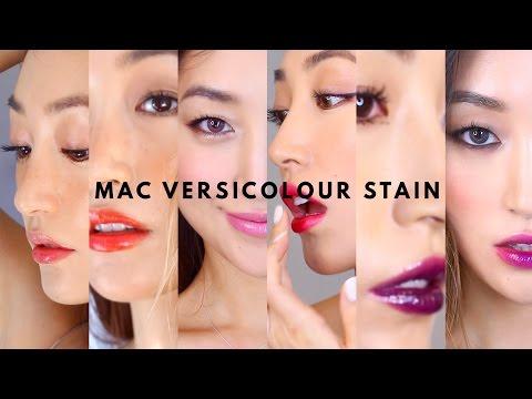MAC VERSICOLOUR STAIN | #사탕발립! 맥 버시컬러 스테인 16종 전발색 | dahyeshka