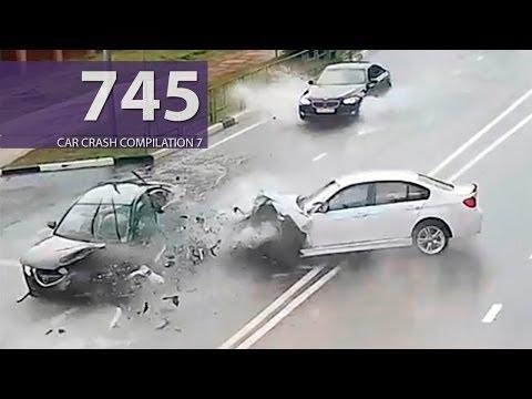 Car Crash Compilation # 745 - June 2016 (English Subtitles) | Ly Ge