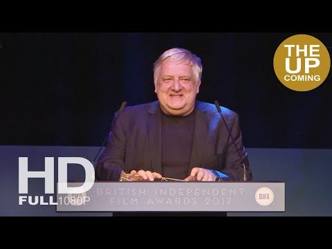 Simon Russell Beale receives BIFAs 2017 Best Supporting Actor Award for the Death of Stalin