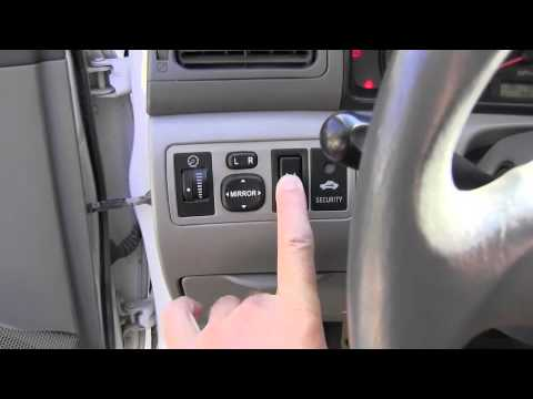 how to reset 2005 toyota sienna maintenance light. Black Bedroom Furniture Sets. Home Design Ideas