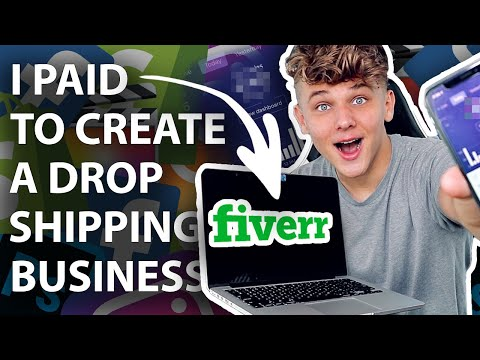 I Paid Fiverr to Create a Dropshipping Business thumbnail