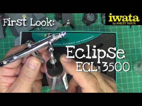 Eclipse ECL 3500 SBS Side-Feed Airbrush