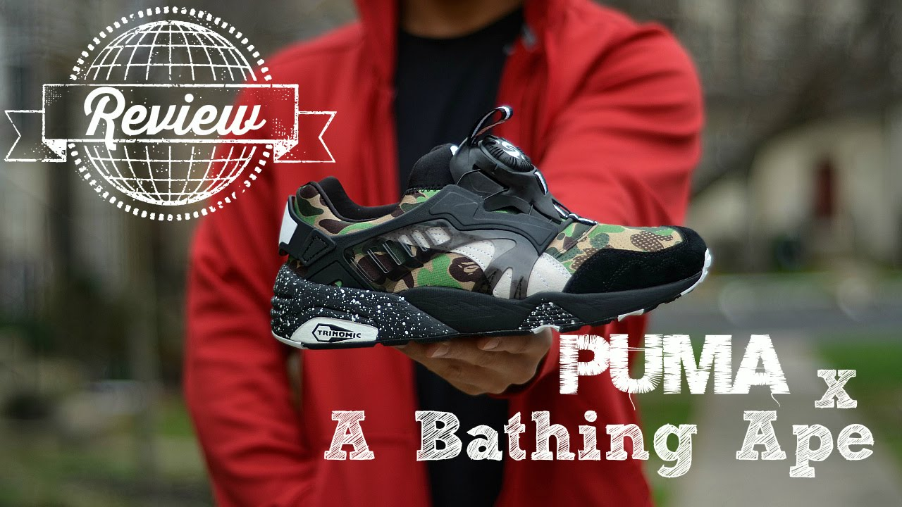 Puma x A Bathing Ape Disc Blaze Review + On Feet