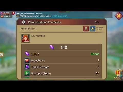 Cara Top Up Game Lords Mobile Dengan Pulsa | Pinoci Gaming