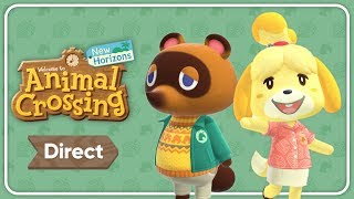 Animal Crossing: New Horizons Direct Announced!