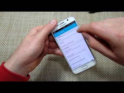 Samsung Galaxy S6 How to Disable Or Turn the TalkBack
