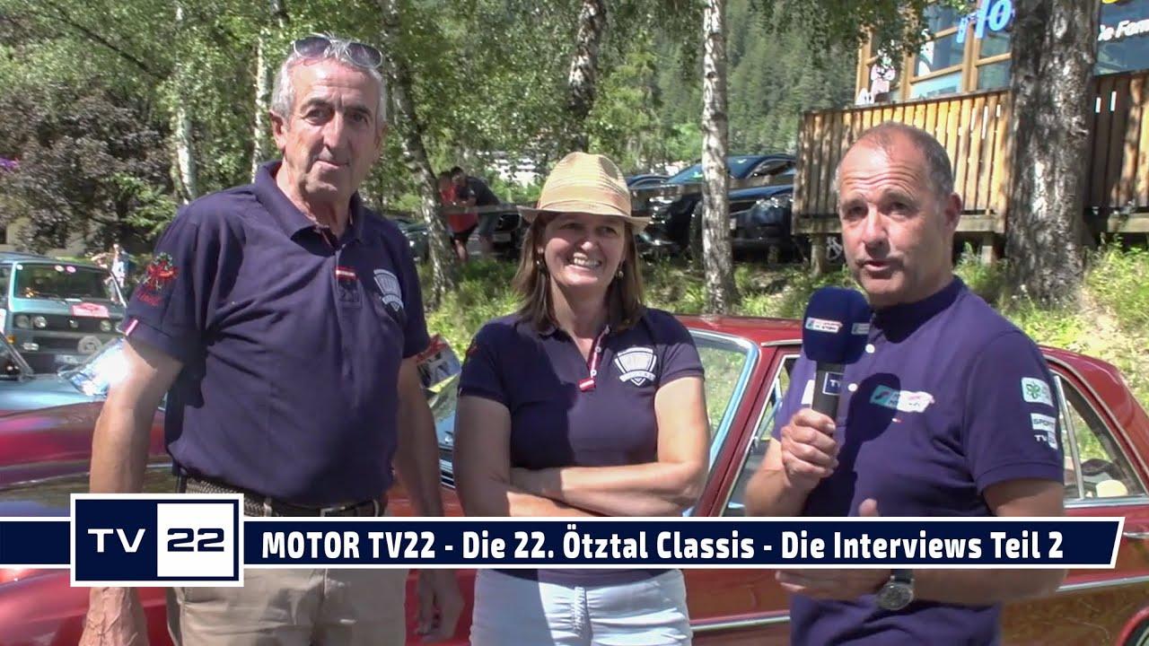 MOTOR TV22: Die 22. Ötztal Classis - Die Interviews Teil 2