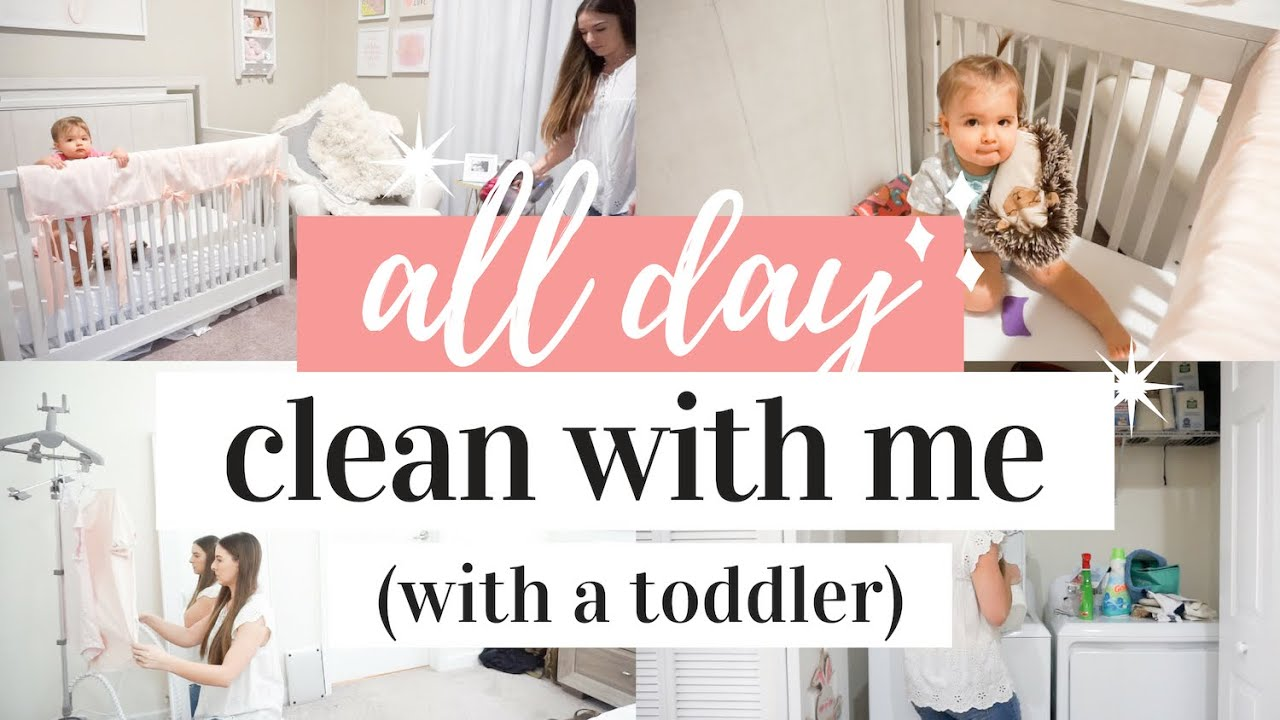 All Day Clean With Me 2019 Extreme Cleaning Motivation Sahm Cleaning Routine