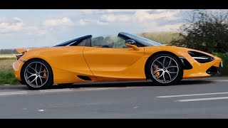 2021 McLaren 720S Spider review. They're getting to be great value but this or the Ferrari F8?