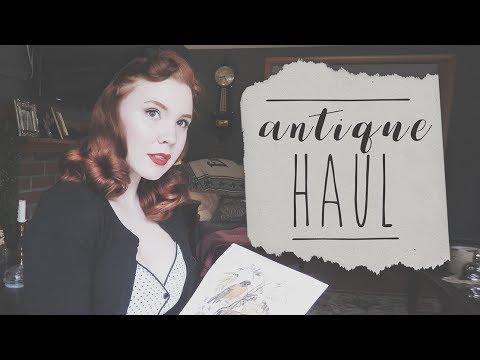 Antique Decor Haul! (Re-Uploaded)