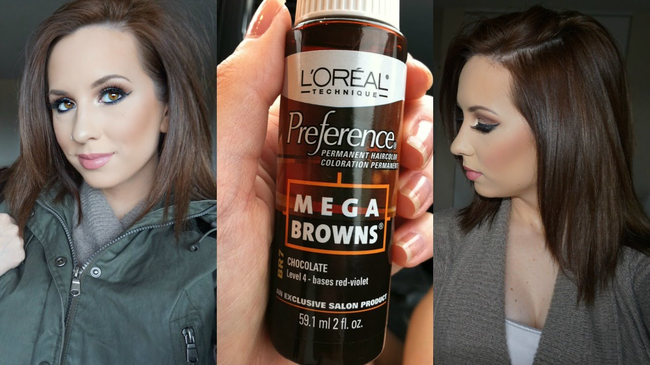 Quick Chocolate Brown Hair Under 1000 Youtube