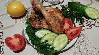 Жареная курица кусочками видео рецепт