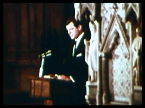 Ted Kennedy eulogy to his brother Robert 1968