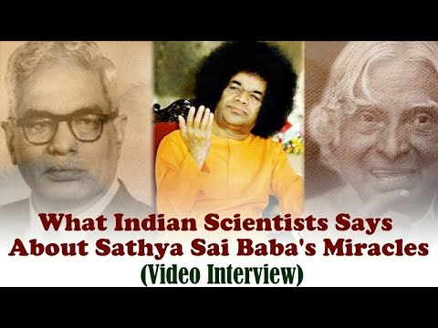 Indian Scientist's Explanation on Sai Baba's Miracles