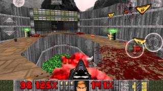 Brutal Doom on Nvidia Shield tablet